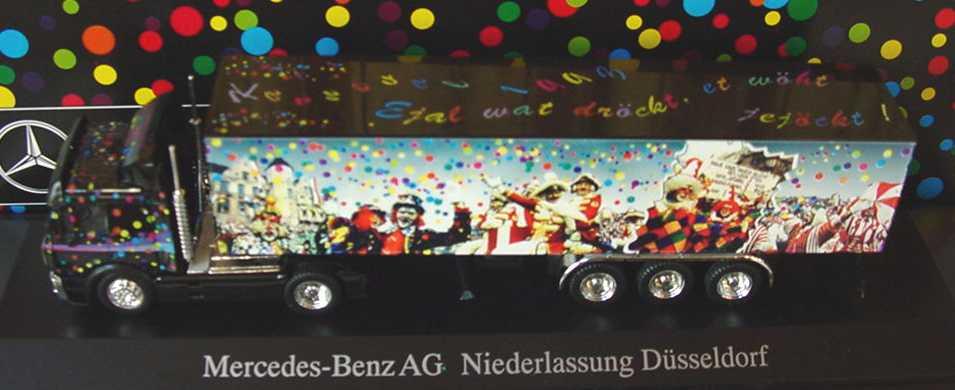 "1:87 Mercedes-Benz SK Fv Cv KoSzg 2/3 ""Kö-Truck, Karneval 1993, MB Ndl. Düsseldorf"""