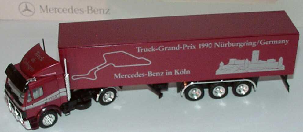 """1:87 Mercedes-Benz SK Fv Cv KoSzg 2/3 """"Truck Grand Prix 1990 Nürburgring, MB in Köln"""""""