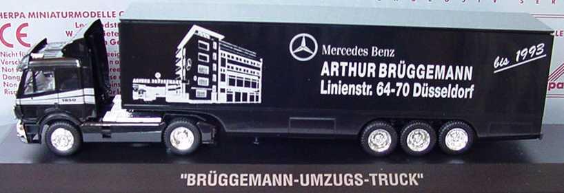 """1:87 Mercedes-Benz SK Fv Cv KoSzg Cv 2/3 """" Brüggemann-Umzugs-Truck"""""""