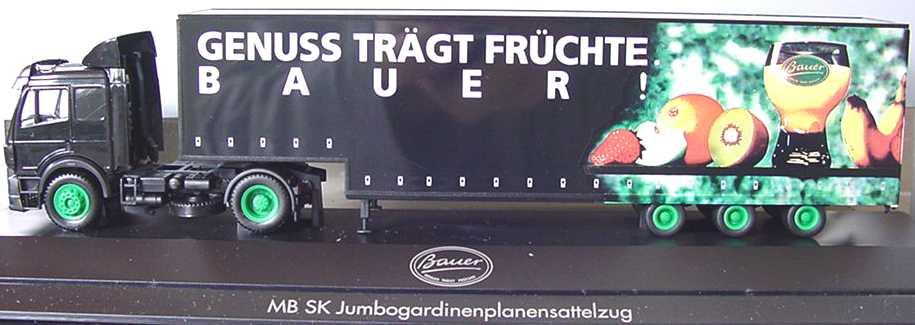 """1:87 Mercedes-Benz SK Fv JuKoSzg 2/3 """"Genuss trägt Früchte, Bauer!"""""""