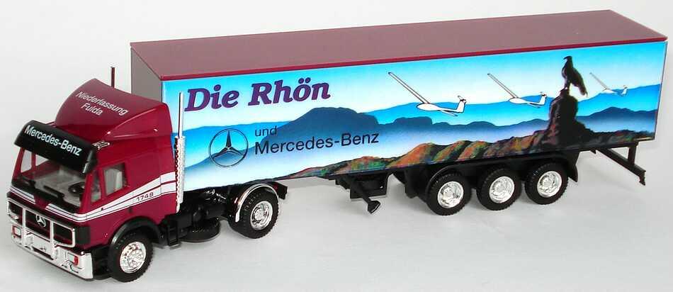 """1:87 Mercedes-Benz SK Fv KoSzg 2/3 """"MB Ndl. Fulda, Die Rhön und Mercedes-Benz"""""""
