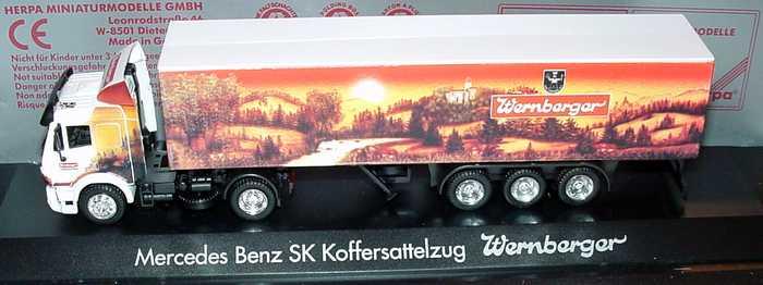 """1:87 Mercedes-Benz SK Fv KoSzg 2/3 """"Wernberger"""""""