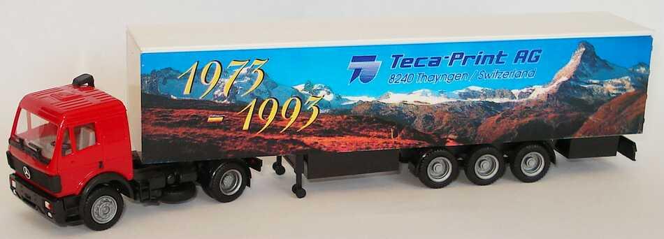 """1:87 Mercedes-Benz SK KoSzg 2/3 """"Teca-Print AG, Thayngen, 1973-1993"""""""