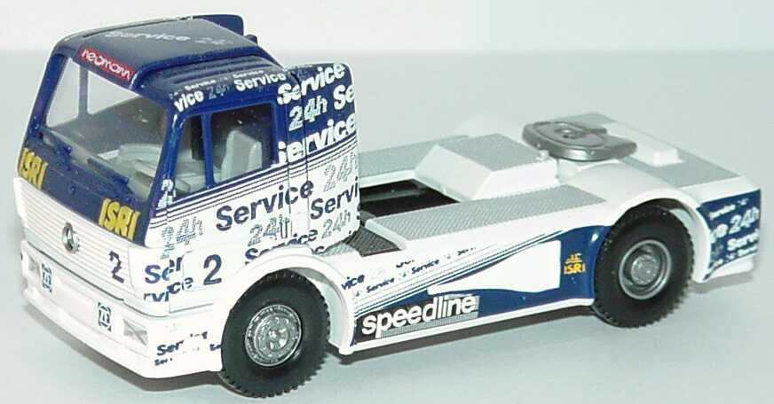"""1:87 Mercedes-Benz SK Renntruck """"Service 24h, Hegmann"""" Nr. 2"""