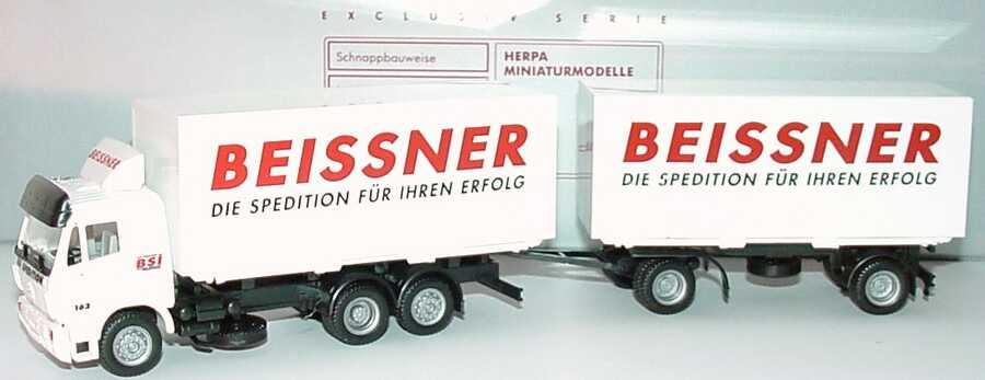 """1:87 Mercedes-Benz SK WKoHgz 3/2 """"Beissner, Die Spedition für Ihren Erfolg"""""""