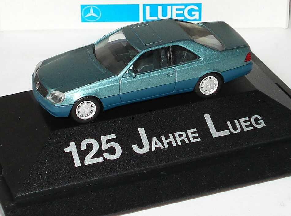 "1:87 Mercedes-Benz S 600 Coupé (W140) beryllmet. ""125 Jahre Lueg"""