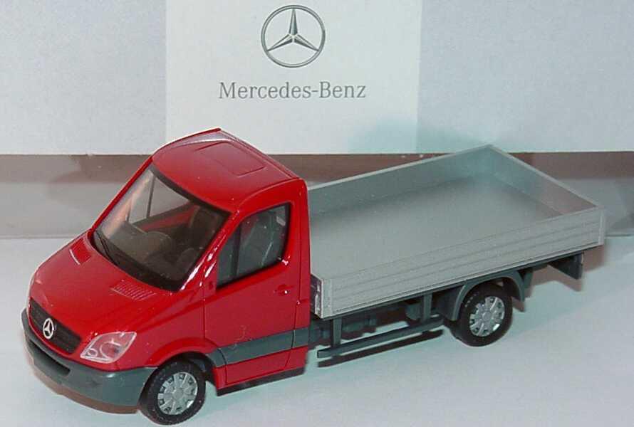 mercedes benz sprinter 2006 pritsche hibiskusrot. Black Bedroom Furniture Sets. Home Design Ideas