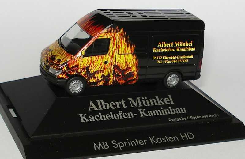 1:87 Mercedes-Benz Sprinter (T1N) Kasten Hochdach