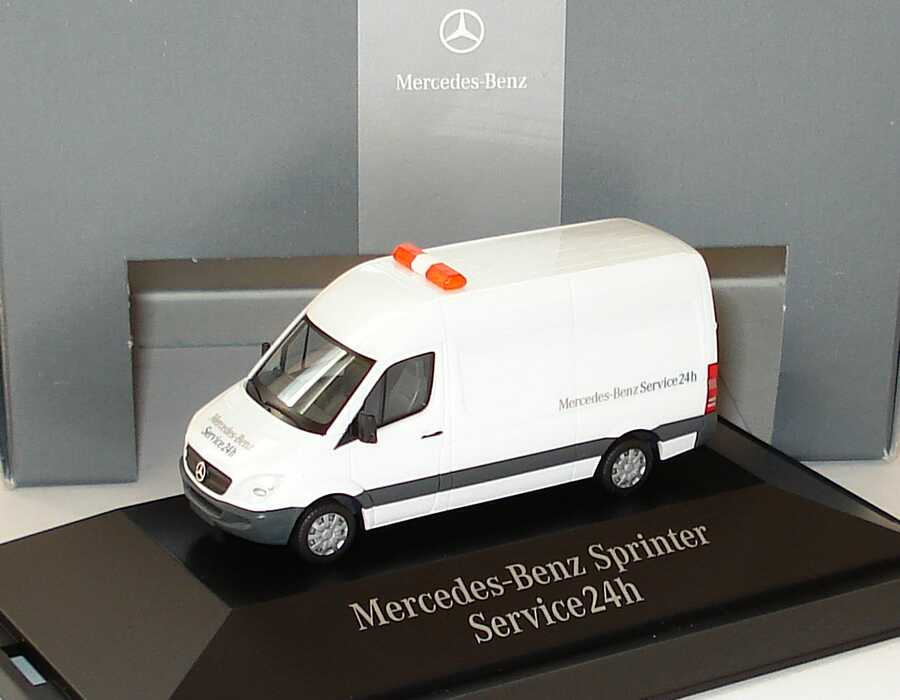 1 87 mercedes benz sprinter ncv3 kasten hochdach for Mercedes benz sprinter service