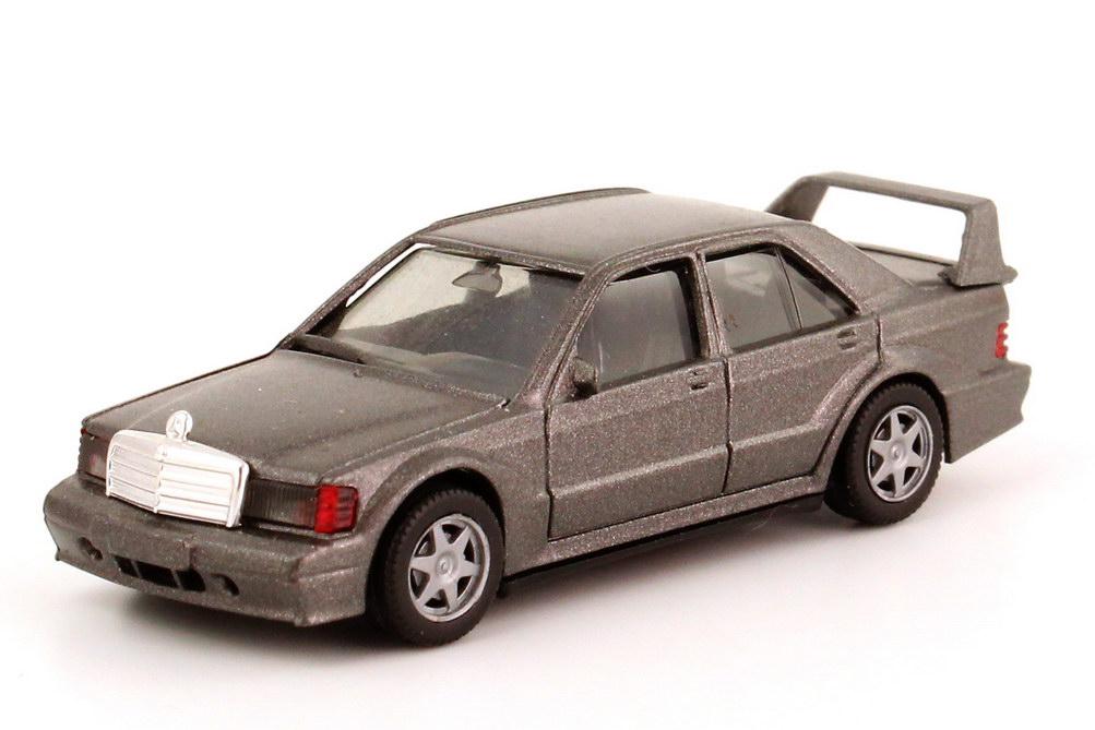 Foto 1:87 Mercedes-Benz 190E 2.5-16 Evolution II W201 grau-met. - herpa 030953