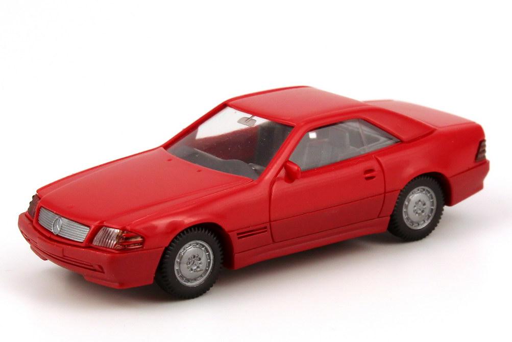 1:87 Mercedes-Benz 500SL (R129) (Hardtop) rot, 2 Lüftungsschlitze seitlich (MB)