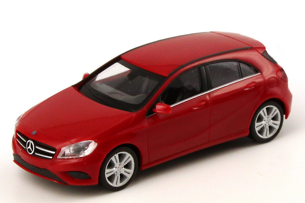 mercedes benz a klasse 2012 w176 jupiter rot werbemodell herpa b66960118 bild 2. Black Bedroom Furniture Sets. Home Design Ideas