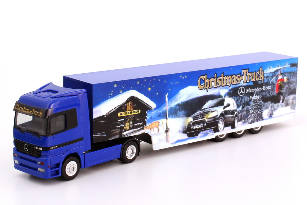 87 mercedes benz actros lh koffer szg mb in fulda christmas truck. Black Bedroom Furniture Sets. Home Design Ideas