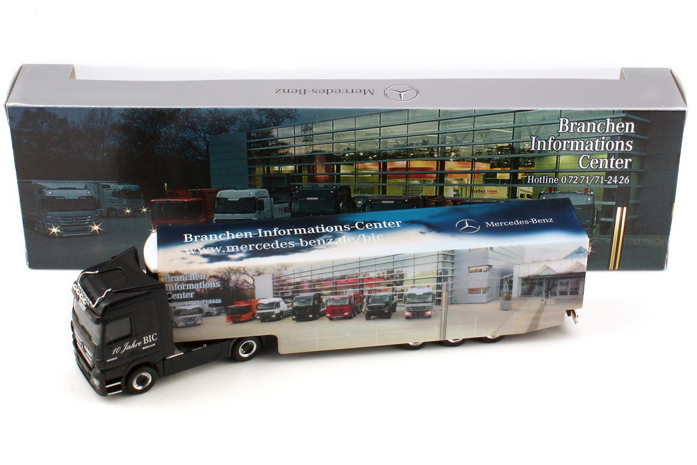 "1:87 Mercedes-Benz Actros Megaspace MP3 KükoSzg 2/3 ""Branchen-Informations-Center, Edition 7"" (MB)"