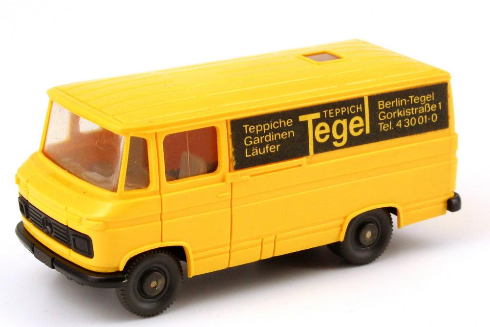 "1:87 Mercedes-Benz L406 Kasten ""Teppich Tegel, Berlin"" (oV)"