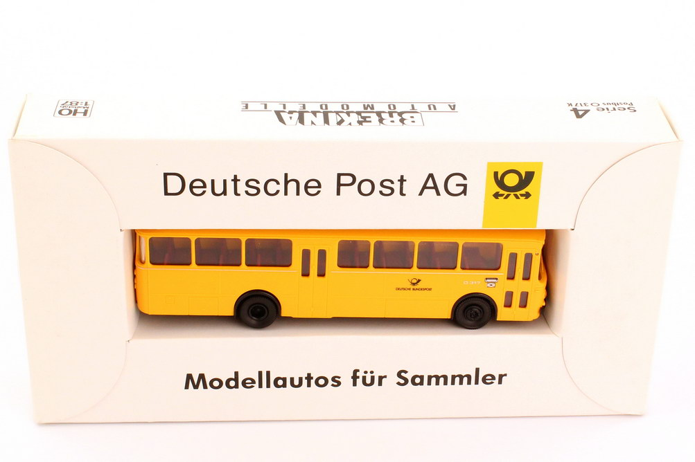 "1:87 Mercedes-Benz O 317 K ""Deutsche Bundespost"" gelb (Post-Serie 4)"