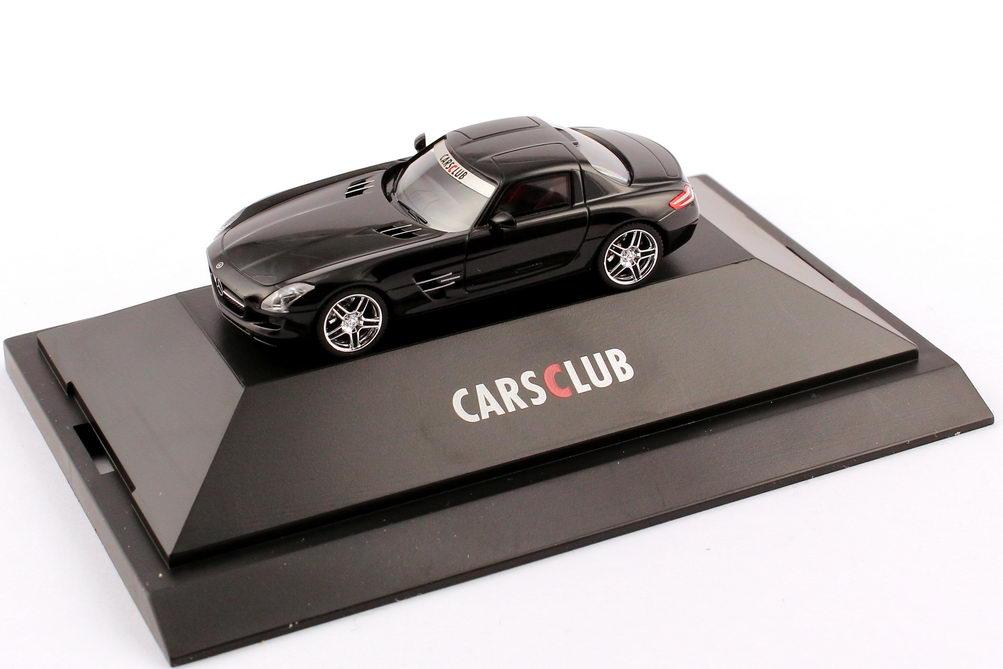 1:87 Mercedes-Benz SLS AMG (C197) schwarz