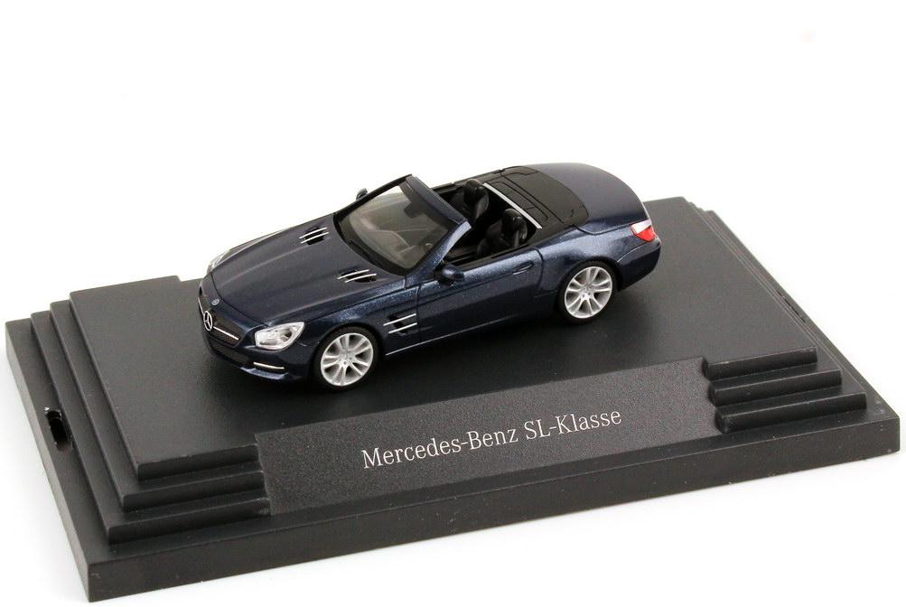 1:87 Mercedes-Benz SL-Klasse 2012 (R231) cavansit-blau-met. (MB)