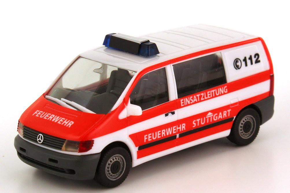 1 87 mercedes benz vito w638 bus elw feuerwehr stuttgart for Mercedes benz elw