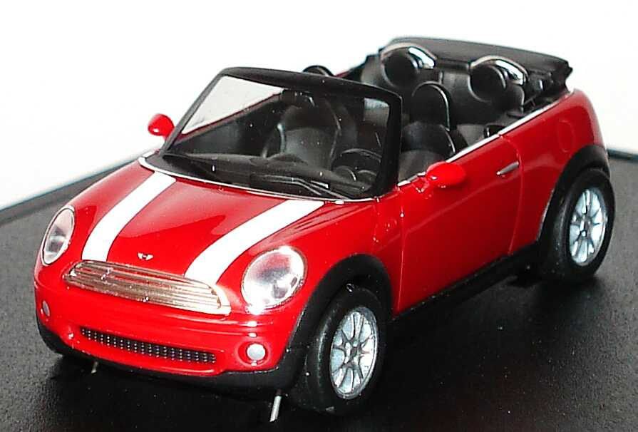 mini cooper cabrio r57 2009 chilired mit wei en. Black Bedroom Furniture Sets. Home Design Ideas