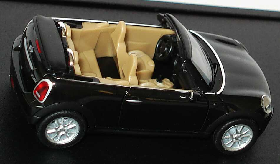 1 87 mini cooper cabrio r57 2009 midnightblack schwarz ebay. Black Bedroom Furniture Sets. Home Design Ideas