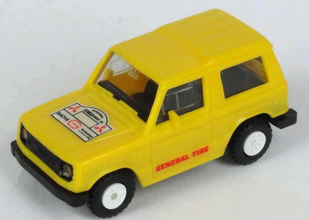 "1:87 Mitsubishi Pajero kurz ""Camel, General Tyre"""