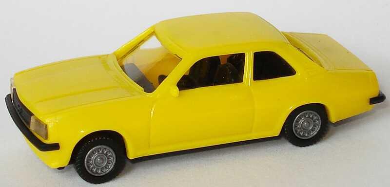 1:87 Opel Ascona B gelb