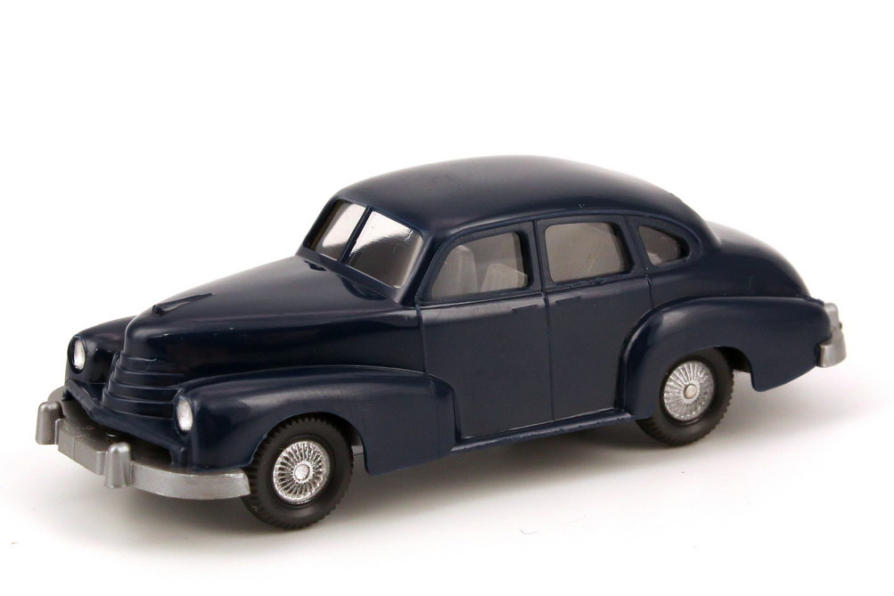 Foto 1:87 Opel Kapitän 1951 dunkel-blau Wiking 110