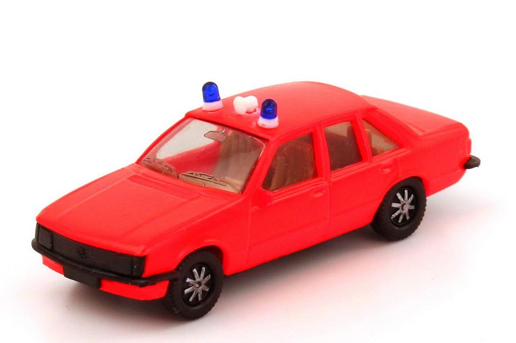 1:87 Opel Rekord E Feuerwehr leuchtrot (2 Warnleuchten)