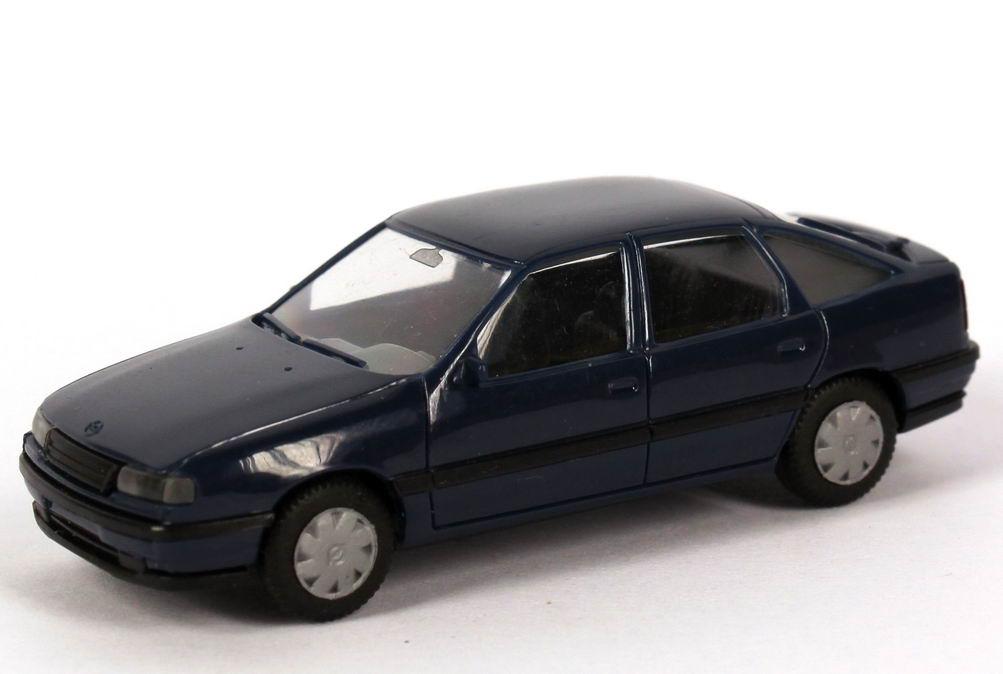 Foto 1:87 Opel Vectra A Fließheck dunkelblau - herpa 2073