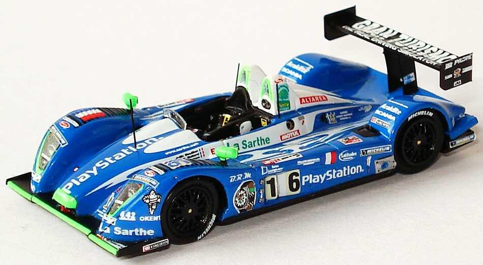 "1:87 Pescarolo 01 - Judd LeMans 2007 ""PlayStation, Gran Tourismo"" Nr.16, Collard / Boullion / Dumas (3. Platz)"