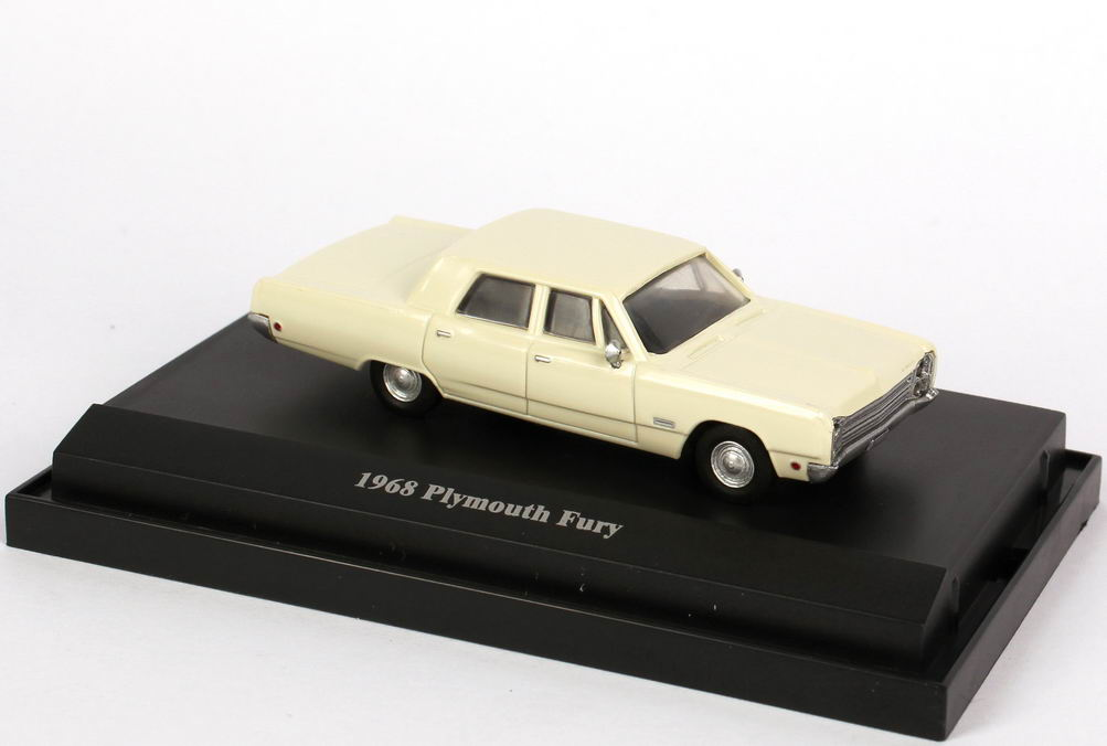 1:87 Plymouth Fury (1968) creme-weiß