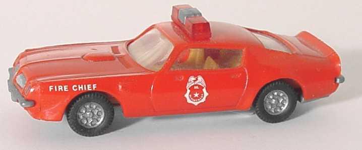 pontiac firebird 1973 fire chief rote warnleuchten pralin in der modellauto galerie. Black Bedroom Furniture Sets. Home Design Ideas