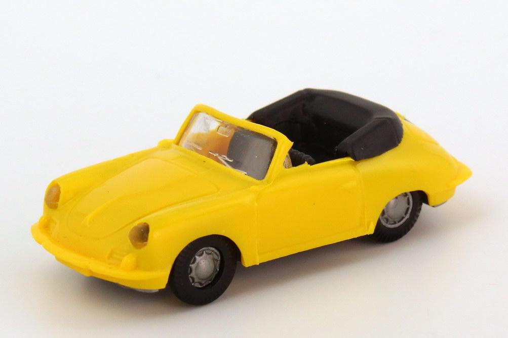 1:87 Porsche 356 Cabrio gelb (oV)