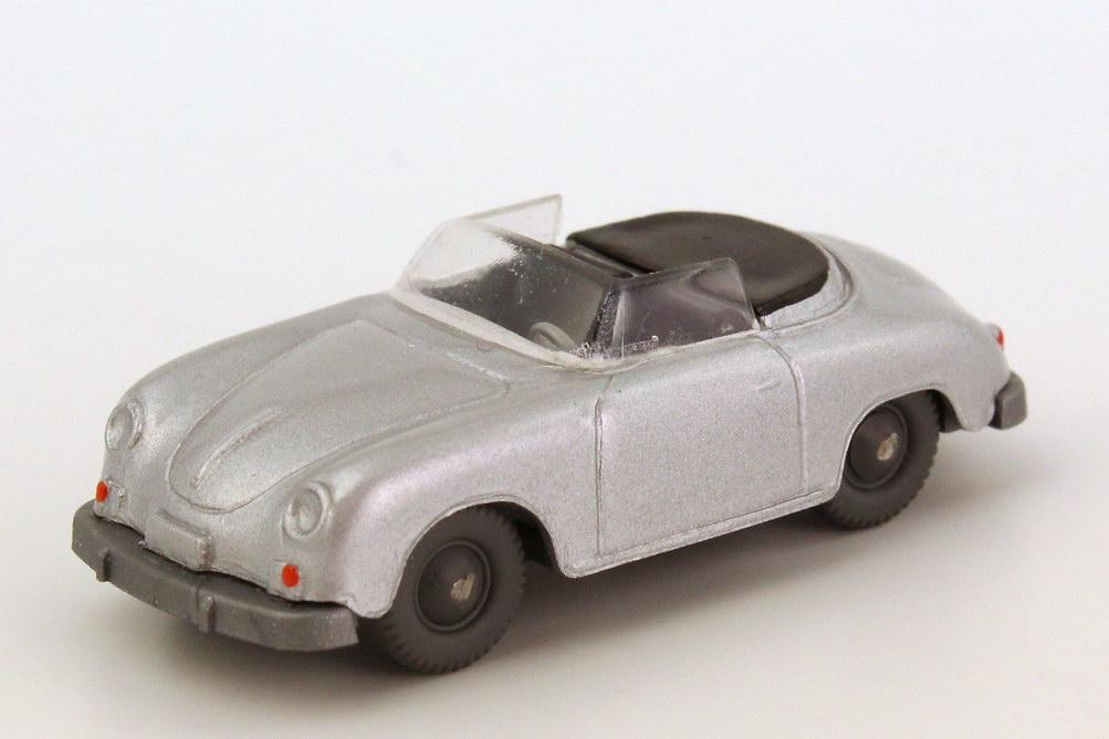 1:87 Porsche 356 Cabrio silbermet. (oV)