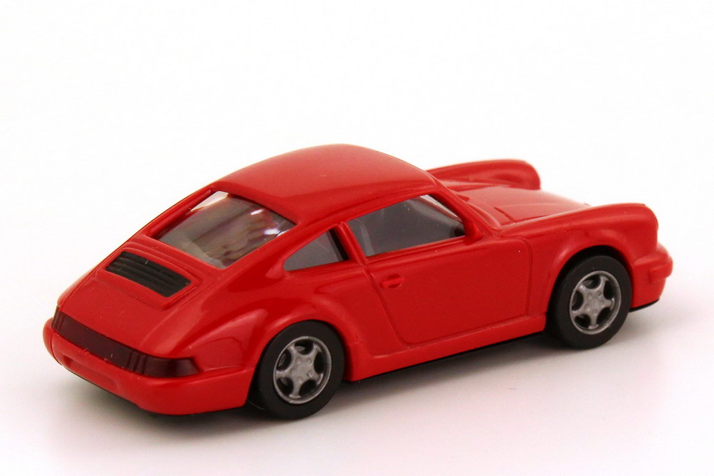 Foto 1:87 Porsche 911 Carrera 2 Cup-Version (964) rot euromodell