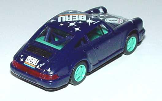 Foto 1:87 Porsche 911 Carrera 2 Cup-Version Beru Nr.8 Fehldruck (Blinker vorne rechts und beide Seiten unbedruckt) euromodell