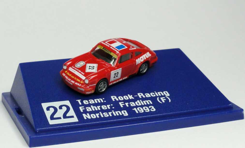 "1:87 Porsche 911 Carrera 2 (Cup-Version) PCC ´93 ""Roock-Racing, Motul"" Nr.22, Fradim"