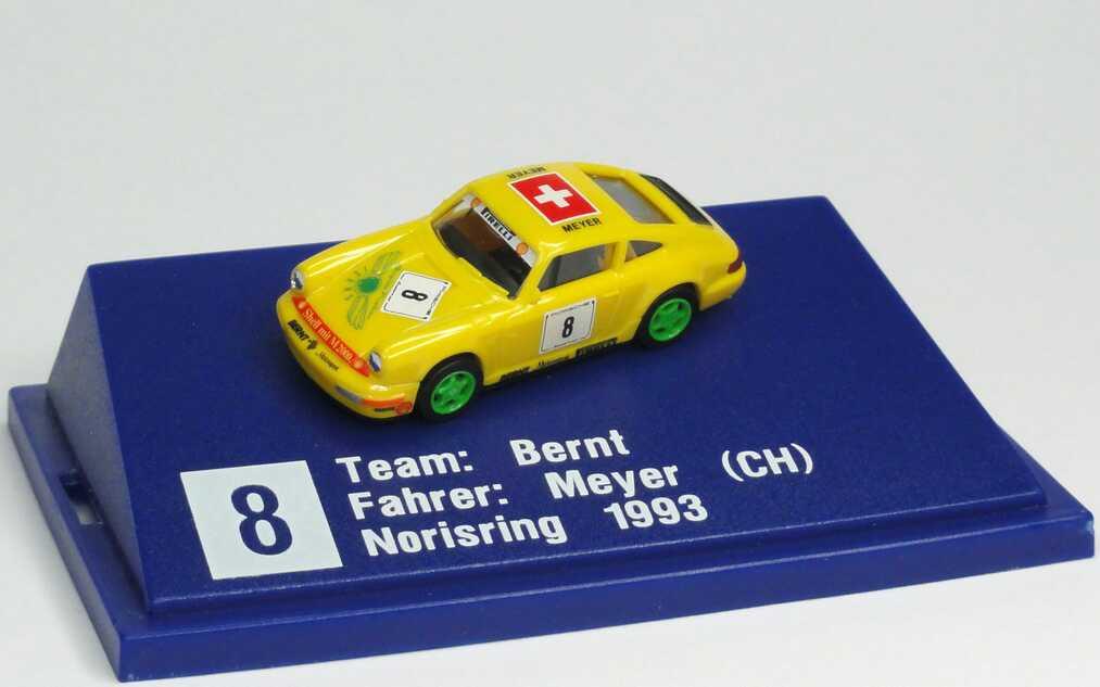 "1:87 Porsche 911 Carrera 2 (Cup-Version) PCC ´94 ""Bernt, Brigitte Nielsen Jeans"" Nr.8, Meyer"