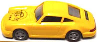 Foto 1:87 Porsche 911 Carrera 2 Cup-Version gelb Porsche Modellautosammler Gruppe euromodell
