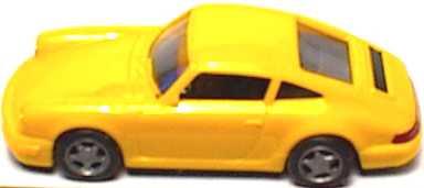 Foto 1:87 Porsche 911 Carrera 2 Cup-Version gelb euromodell