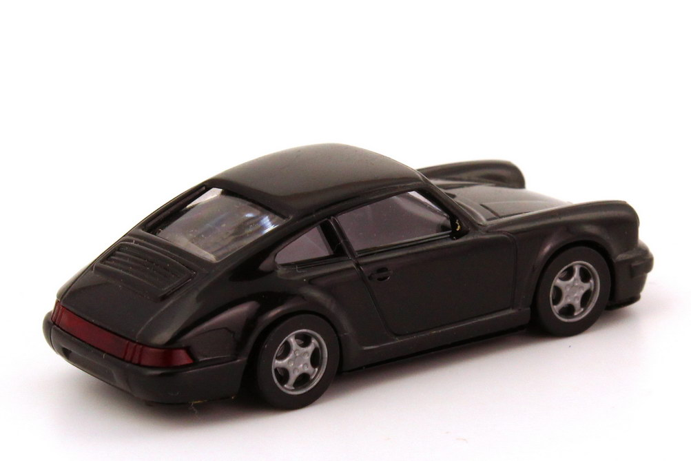 Foto 1:87 Porsche 911 Carrera 2 Cup-Version schwarz euromodell