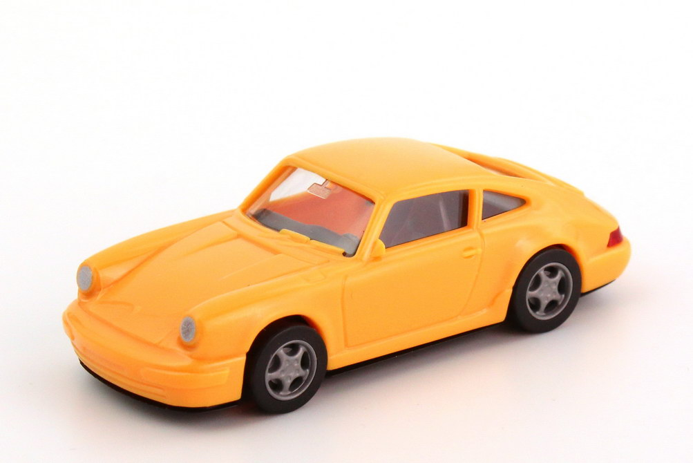 1:87 Porsche 911 Carrera 2 Cup-Version (964) apricot-orange, Spoiler ohne Druck (oV)