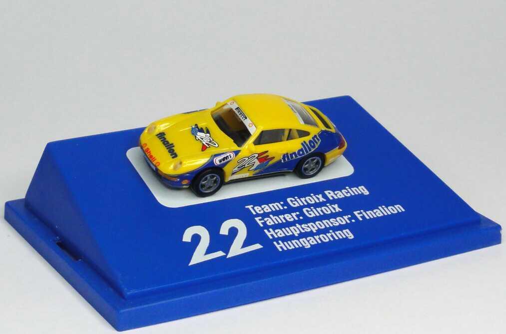 """1:87 Porsche 911 Carrera (993) PC ´94 """"Giroix, Finalion"""" Nr.22, Giroix"""