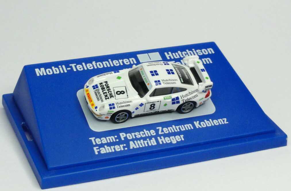 """1:87 Porsche 911 RS Clubsport (993) """"PZ Koblenz, Hutchinson Telecom"""" Nr.8, Altfrid Heger"""