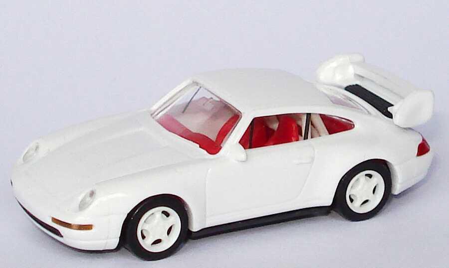 1:87 Porsche 911 RS Clubsport (993) weiß, Felgen weiß,  IA rot mit Überrollbügel
