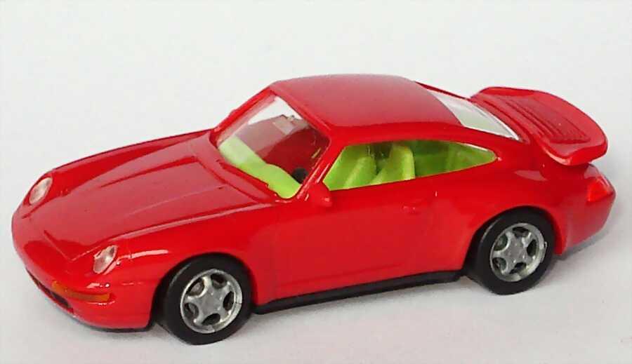 1:87 Porsche 911 Turbo (993) kirschrot, IA neongrün