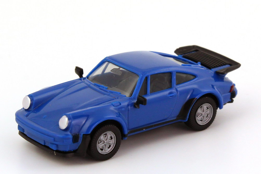 1:87 Porsche 911 turbo royalblau (oV, Zm)