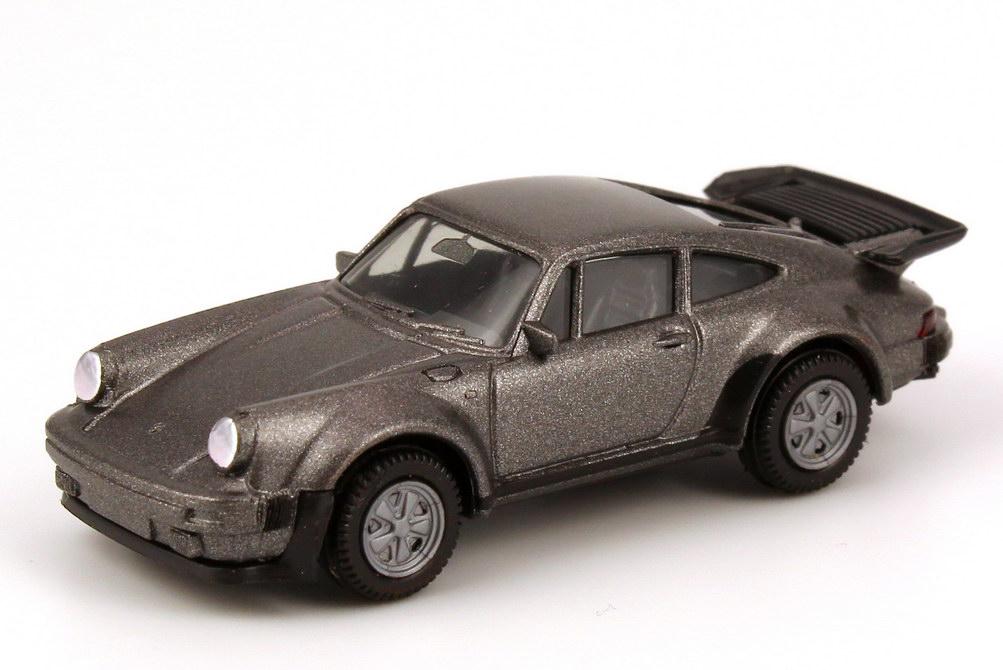 1:87 Porsche 911 turbo grau-met. (Spiegel fest)