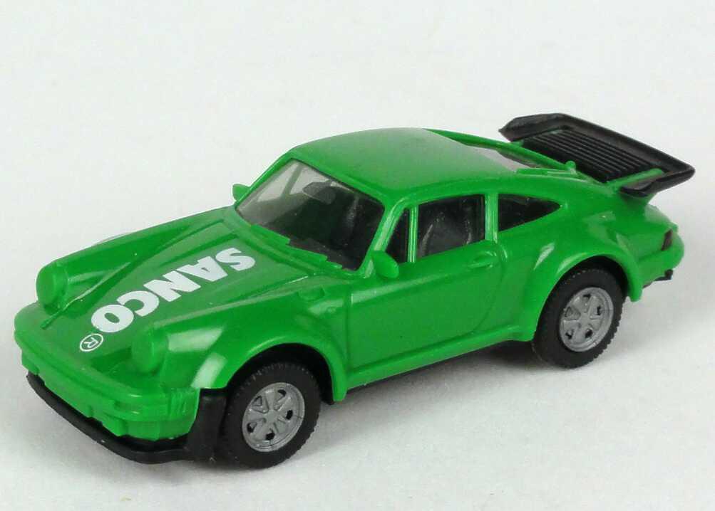 """1:87 Porsche 911 turbo grün """"Sanco"""" (oV)"""